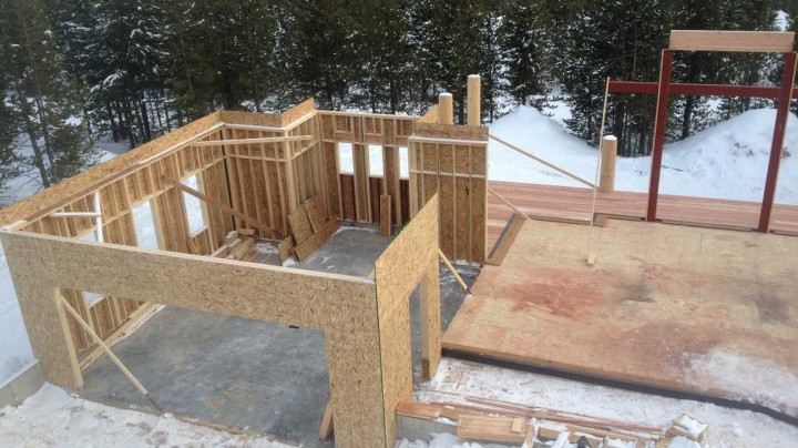 log homes custom homes renovations or additions schafer construction covers your residential framing needs