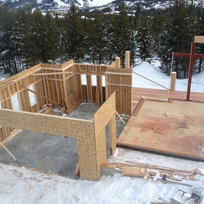 Big Sky Custom Home Schafer Construction Bozeman Montana
