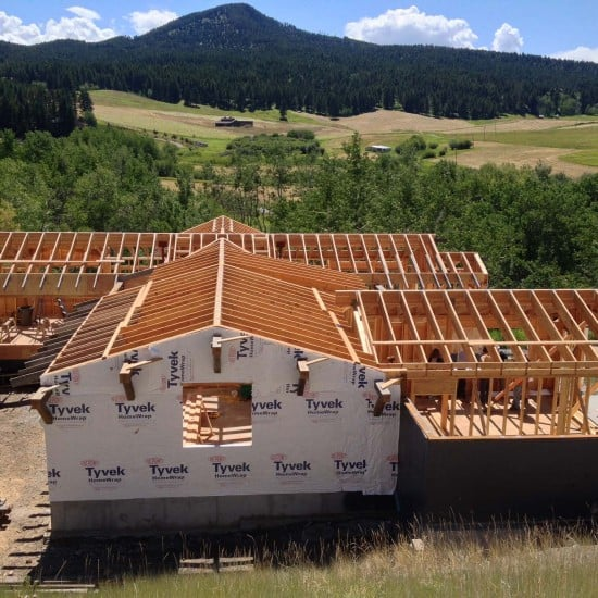 Yellowstone Traditions Residential Project - Schafer Construction Bozeman Montana